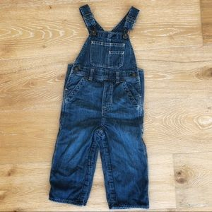Baby Gap jersey lined overalls in 18-24 months